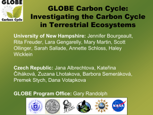 GLOBECarbonCycleIntroduction