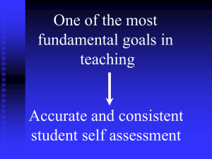 Fundamental Goal in Teaching - The Critical Thinking Community