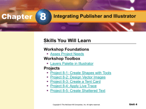 Chapter 8 Integrating Publisher and Illustrator - McGraw