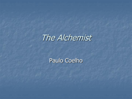 The alchemist analysis essay