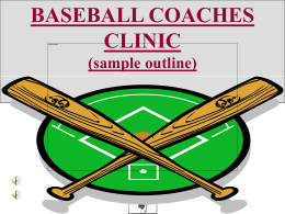 Click here to the Coaches Clinic PowerPoint Presentation
