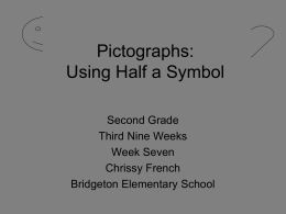 Pictographs: Using Half a Symbol