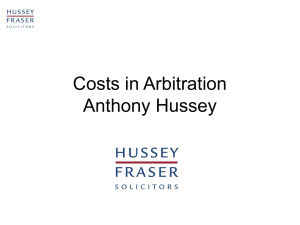 liability for costs