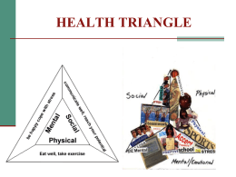 HEALTH TRIANGLE - Daniel Boone Area School District