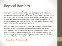 Beyond Borders Presentation