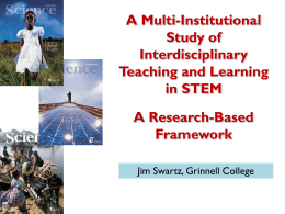 A Multi-Institutional Study of Interdisciplinary Teaching