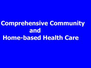 Comprehensive Community and Home