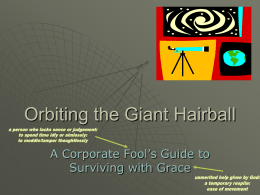 Orbiting the Giant Hairball1 copy
