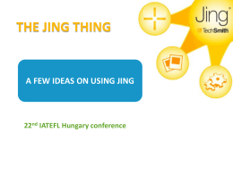 The Jing Thing - WordPress.com