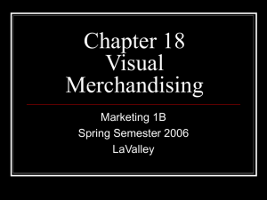 Chapter 18 Visual Merchandising