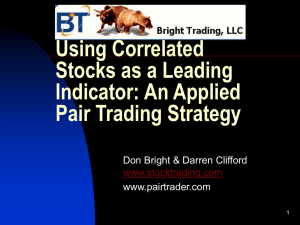 Pair Charting - Bright Trading