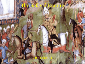 Safavid Empire: Cultural Blending