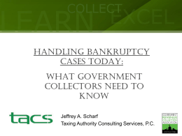 The Bankruptcy Abuse Prevention and Consumer Protection Act