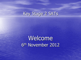 Sats-evening-for-parents-2012