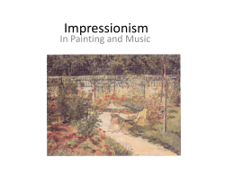 Impressionism - The Spirit of Great Oak