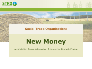 Local Money - Transeuropa Prague