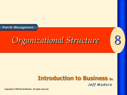 Introduction to Business 3e - Jeff Madura