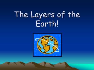 The Layer`s Of The Earth!