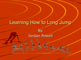 Learning How to Long Jump