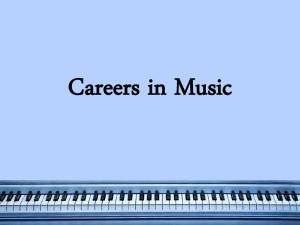 Music Careers PPT - Taylor County Schools