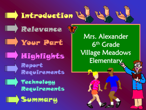 Book Report Powerpoint - Mrs. Alexander`s Tortugas