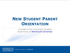 New Student Parent Orientation