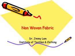 Non-woven Fabric: Introduction