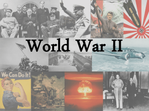 34 Causes of WWII