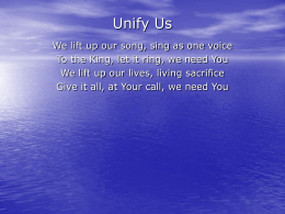 Unify Us