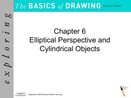 Elliptical Perspective & Cylindrical Objects