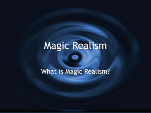 Magic Realism and Suspension of Disbelief