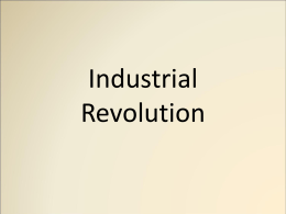 Industrial Revolution PPT
