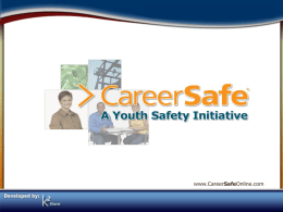 CareerSafe PowerPoint File