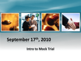 Sept 27 Mock Trial PPT