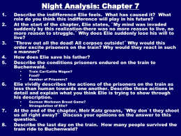 night by elie wiesel chapter 4 summary