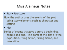 Miss Alaineus Notes