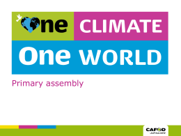 Climate assembly PowerPoint
