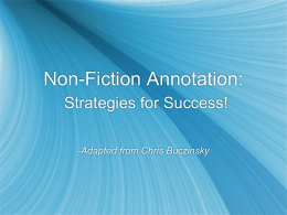 NonfictionAnnotation