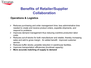 Benefits of Supplier Collaboration