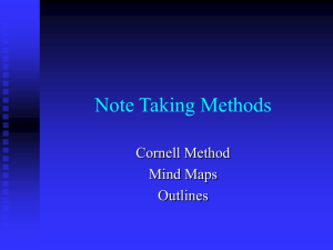 Note-Taking-Methods