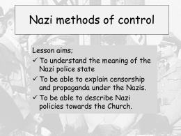 L3 Nazi methods of control