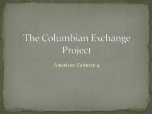 The Columbian Exchange Project