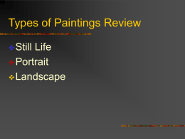 Types of Paintings R.. - Brookwood Elementary School
