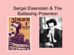 Eisenstein on Intellectual Montage