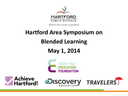 symposium on blended learning 5/1/14 powerpoint