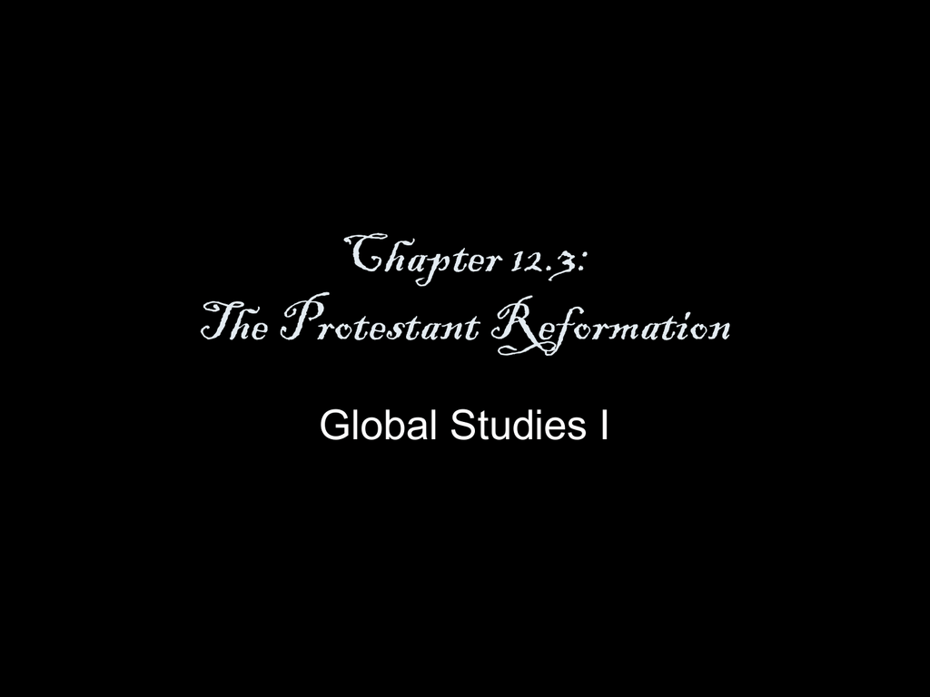 guided reading activity 12 3 the protestant reformation answers key