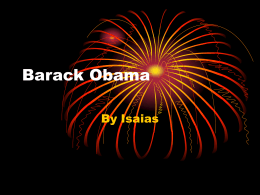 Barack Obama by Isaias