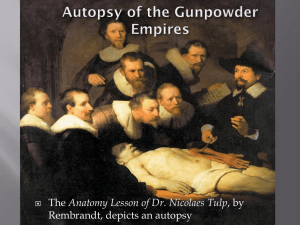Autopsy of an Empire ppt