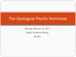 The Geological Pacific Northwest