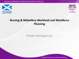People management - NHS Education for Scotland